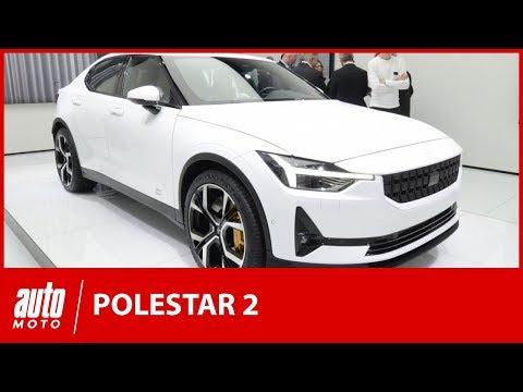 Polestar 2 : la rivale de la Tesla Model 3 au salon de Genève