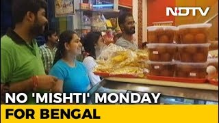 Blue Monday For Bengal As Sweet Shops To Stay Shut Today To Protest GST