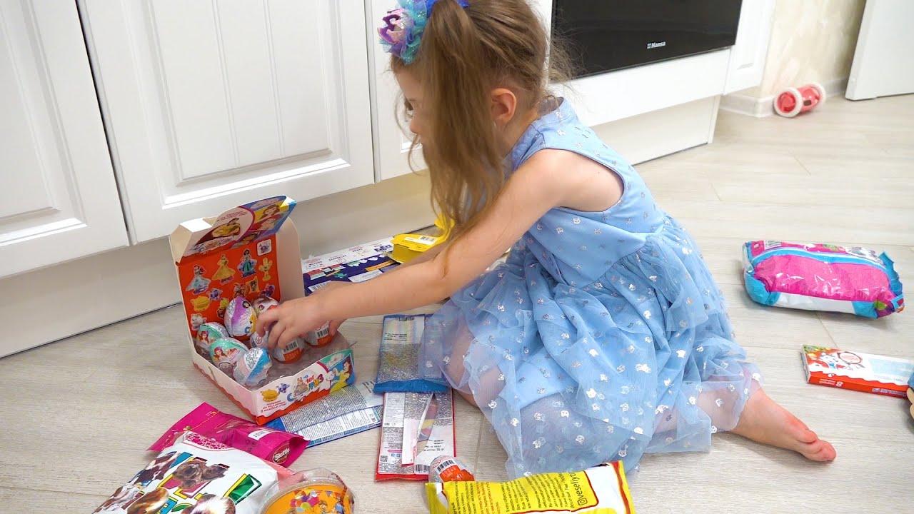 Ева и история про вредные сладости   Делает фруктовые конфетки