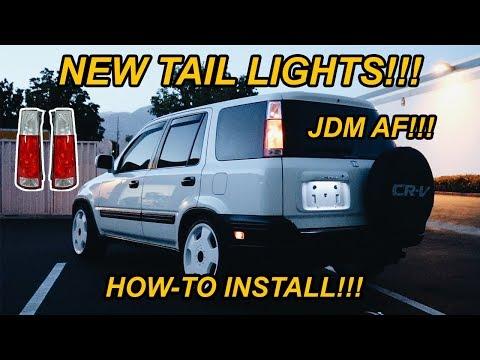 HONDA CRV GETS NEW TAIL/REAR LIGHTS (EASY-INSTALL)