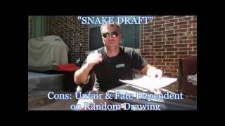 Fantasy Football: Snake Draft Vs Auction Draft