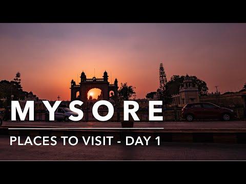 Exploring Mysore - Places to visit in Mysore Day 1