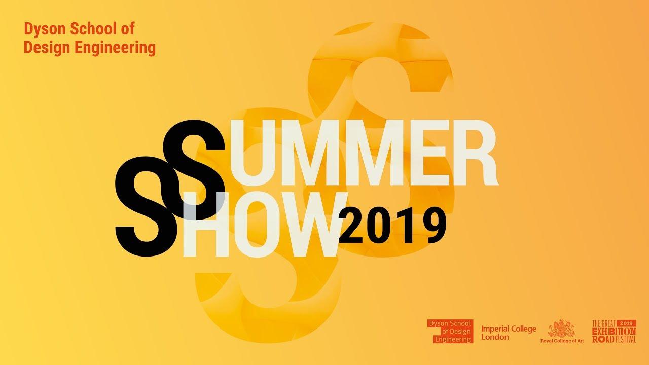 Dyson School Of Design Engineering Summer Show 2019 Youtube