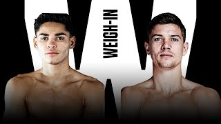 FULL RYAN GARCIA VS. LUKE CAMPBELL WEIGH-IN