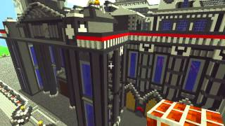 Minecraft - Brussels Palace of Justice