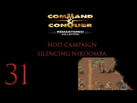 Command & Conquer Remastered Collection Ep. 31 (Silencing Nikoomba) |