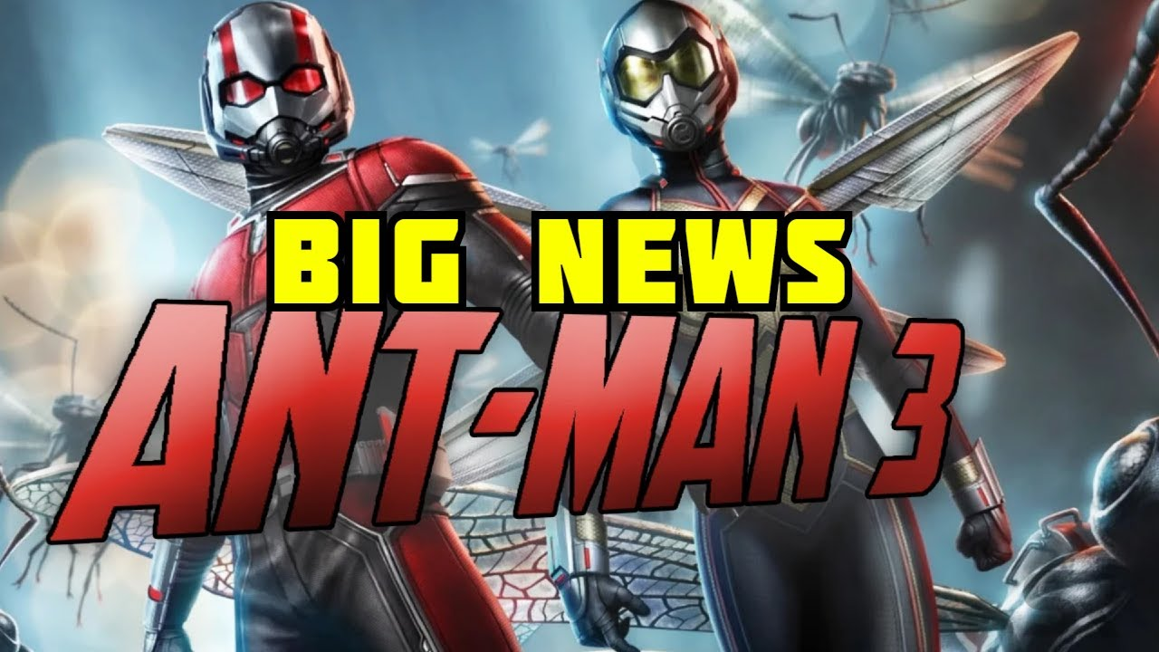 Antman 3 News | Marvel Reportedly Developing ANT-MAN 3 ...