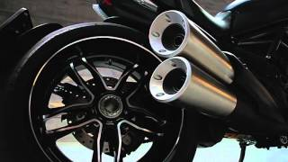 Мотоцикл Ducati Diavel Carbon 2016 (промо видео)