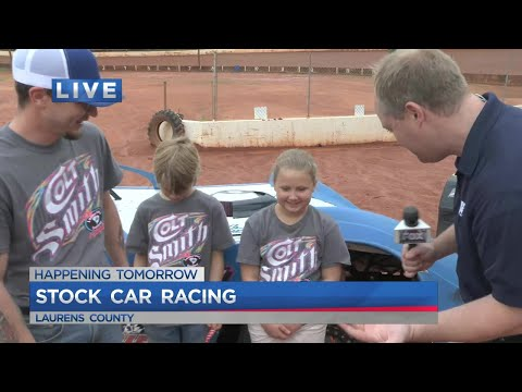 Joe is at the Laurens Speedway with a preview of a race being held Tuesday night to benefit Shriners