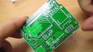 Платы от EasyEDA или Neoway M590e GSM shield