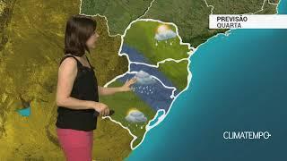 Previsão Sul – Temporais se espalham pela Região