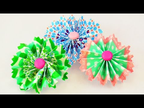 DIY Washitape Blume | Einfache & Schöne Deko Idee | Karten, Magneten & Geschenke selber machen