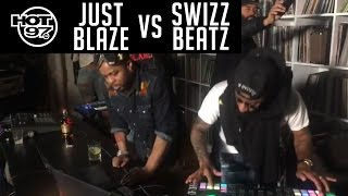 Swizz Beatz VS Just Blaze - HOT97 LIVE by : HOT 97