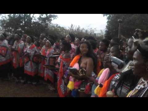Swaziland traditional wedding ceremony