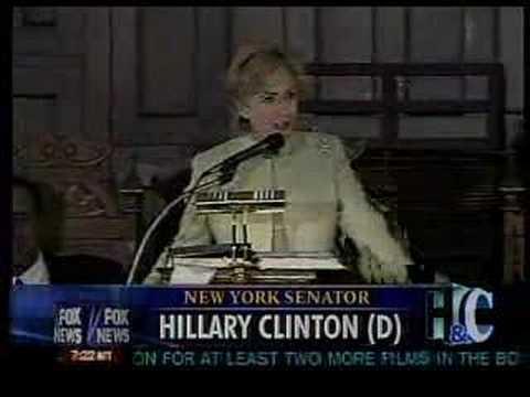 Hillary Clinton adopts a southern drawl