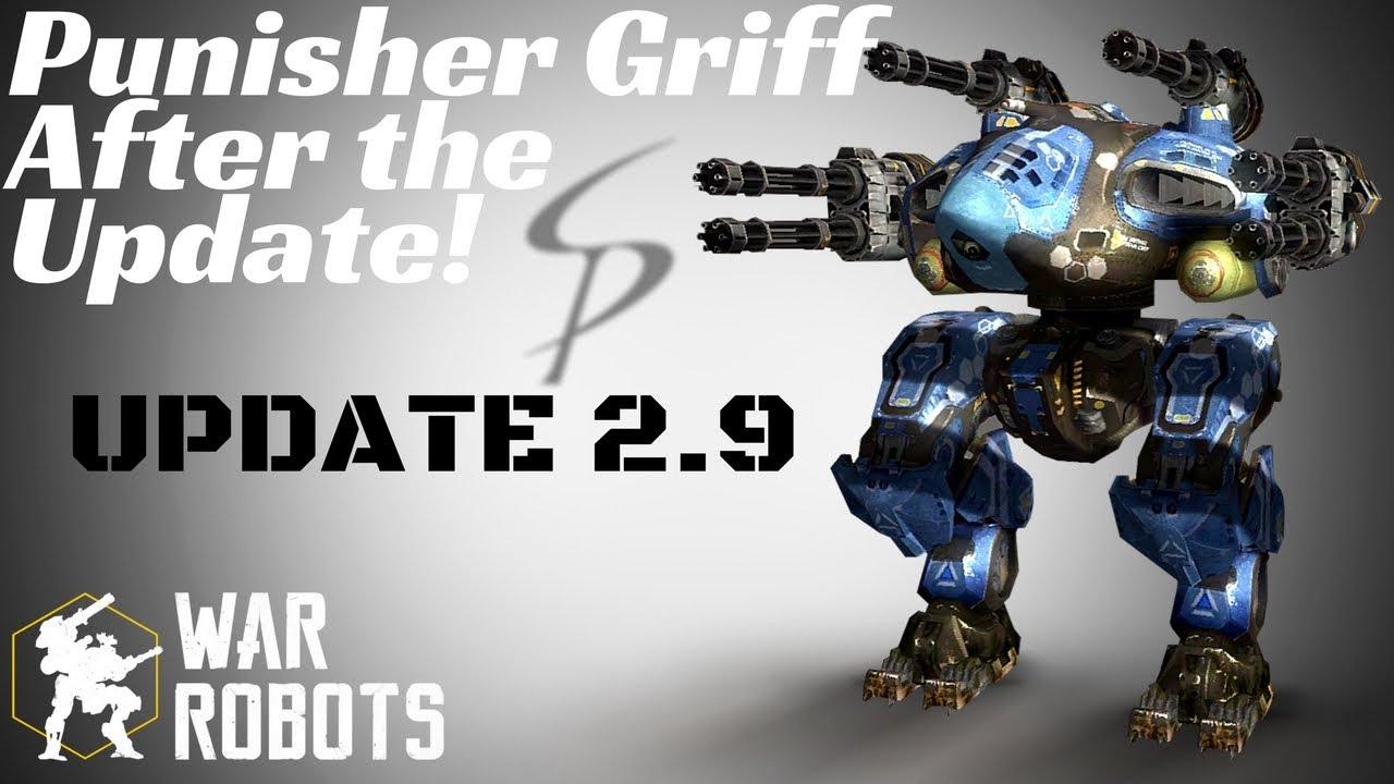 War Robots - Punisher Griff SHREDDING After The Update ...