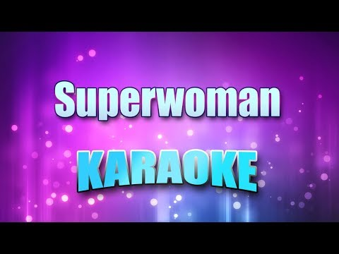 White, Karyn - Superwoman (Karaoke & Lyrics)