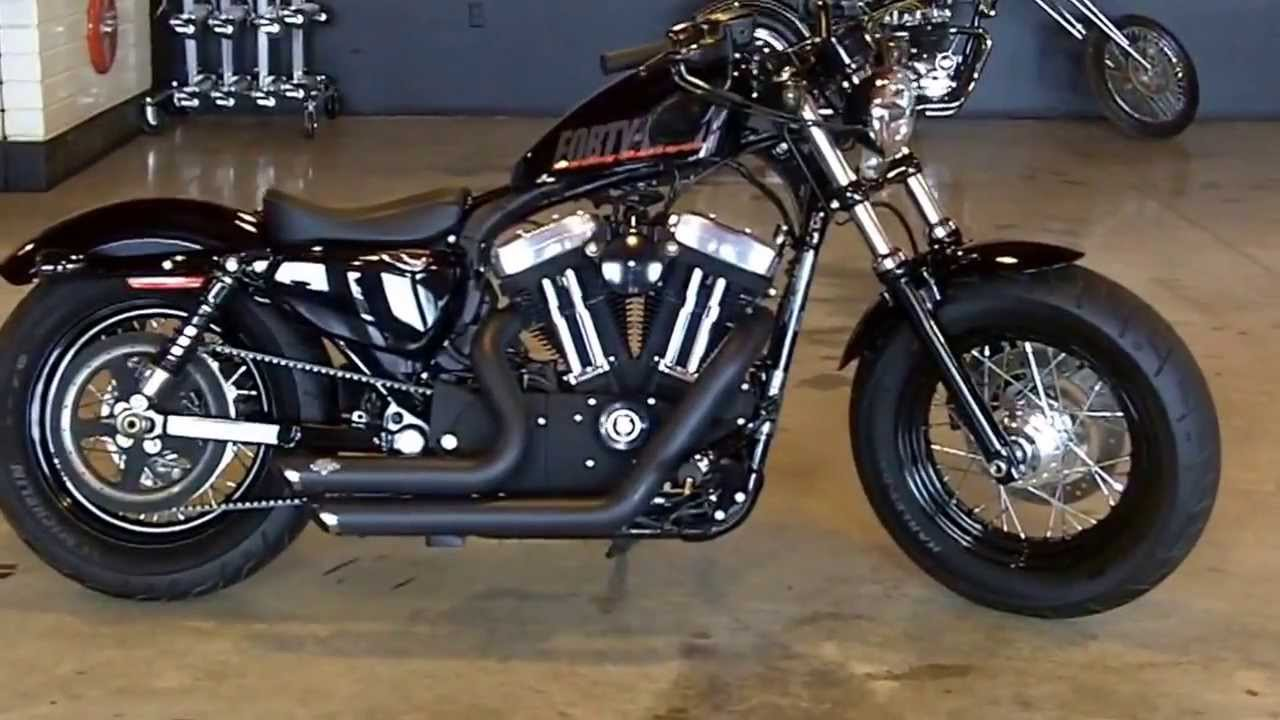 2012 Harley Davidson Sportster Forty Eight Vivid Black For Sale At Hanksters Youtube