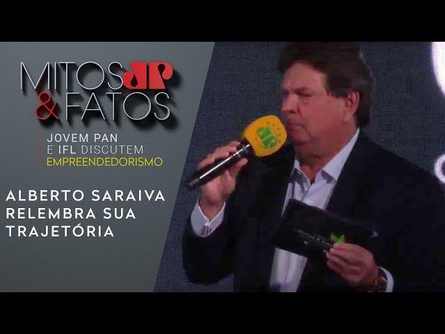 """Alberto Saraiva relembra sua trajetória: """"contrariei o mercado"""""""