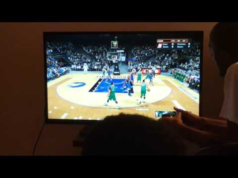 NBA 2K16 chris (bucks) vs nobe (Timberwolves)