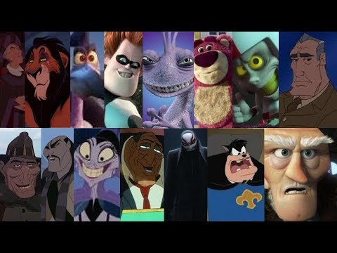 Defeat of my favorite Disney and Pixar villains