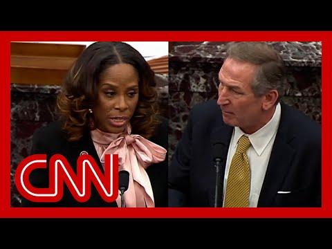 Senator asks impeachment lawyers if Trump won 2020 election