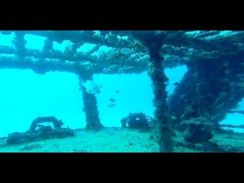Exploration sous marine d'épaves de bateaux naufragés.