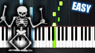 Baixar Spooky Scary Skeletons - EASY Piano Tutorial by PlutaX