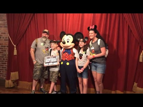 Watch Foster Kids' Reaction When Mickey Mouse Tells Them They're Getting Adopted