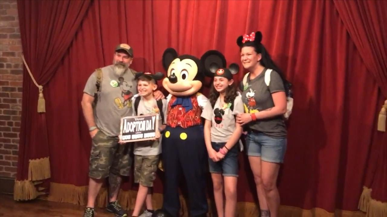 Watch Foster Kids\u0027 Reaction When Mickey Mouse Tells Them They\u0027re ...