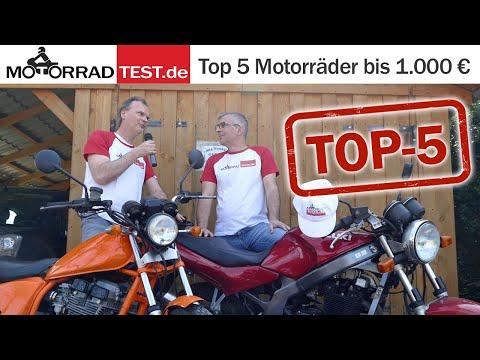 Top 5 Motorräder Bis 1.000 €   Fünf Günstige Und Langlebige Bikes Für Wenig Geld