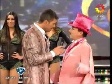 Presentacion del jurado del Bailando 2012 - Anibal Pachano