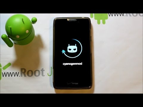 Motorola Droid Razr HD CyanogenMod 11 install and review