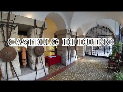 Italy: Duino caste and bunker