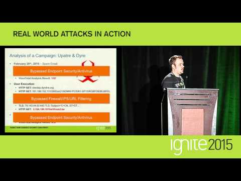 Real World Attacks in Action (Ignite 2015)