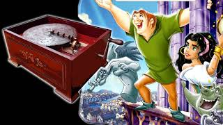 The Bells of Notre Dame | MUSIC BOX Lullaby | The Hunchback of Notre Dame OST - Relaxing Music