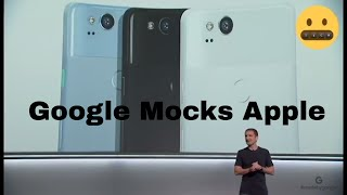 Google made fun of Apple products – even the new iPhone - October 4th   Google Event