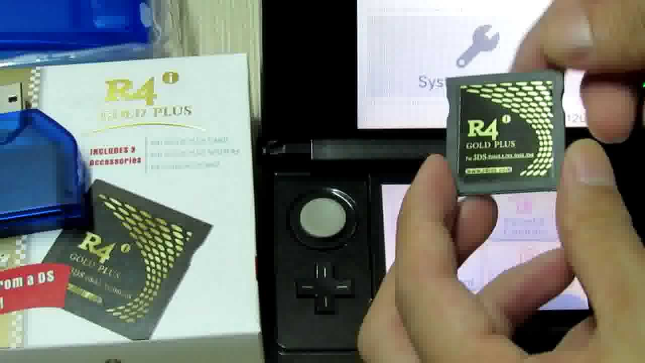 R4i Gold Plus Firmware Upgrade Successfully for 3DS 6 2 0-12U