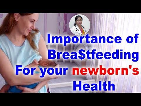 Importance of brea$tfeeding for your newborn's health    Dr M Rajini #Gynecologist