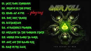 Overkill - The Wings Of War - Full album 2019