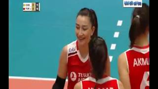 China Vs Turkey - Montreux Volley Master Women - 18-05-2019