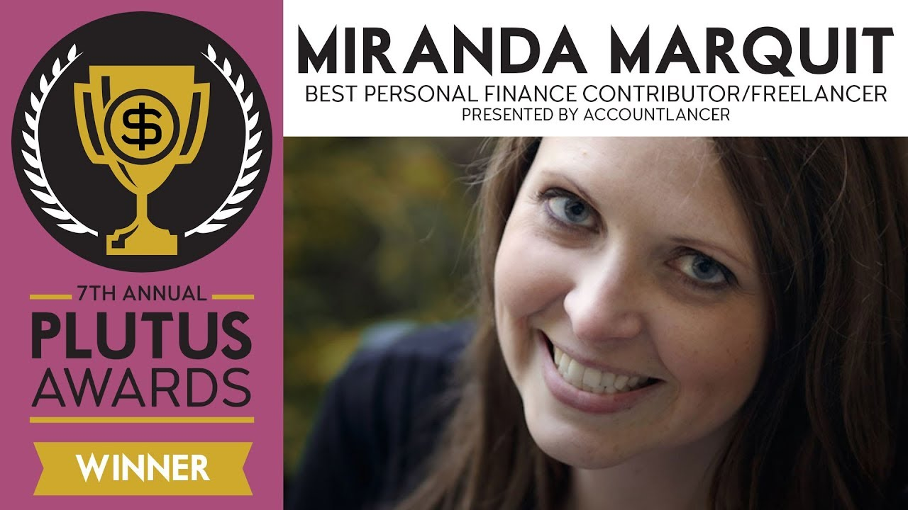 Miranda Marquit Wins Best Personal Finance Contributor/Freelancer Presented  by AccountLancer