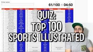 QUIZ: o top 100 da SPORTS ILLUSTRATED para 2019-20!