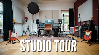 MY EPIC HOME STUDIO TOUR!