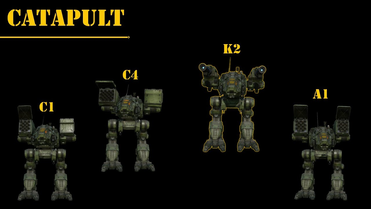 Catapult Mechwarrior