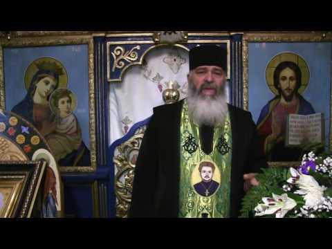 Taina Sfântului Maslu - 19 iulie 2017 - Părintele Calistrat