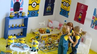 American Girl Doll Despicable Me Minion Dollhouse Room! Hd Watch In Hd!