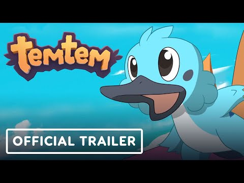 Temtem - Official Anime-style Trailer (Pokemon-Like MMO)