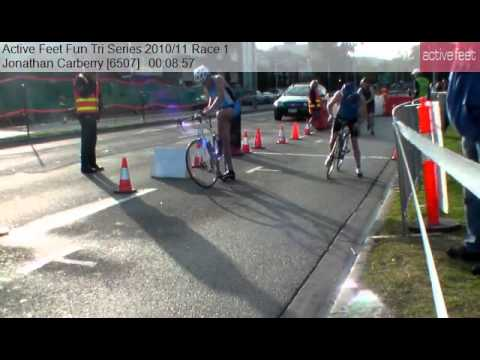 Jonathan Carberry 6507 Active Feet Fun Tri Series 2010 11 Race 1
