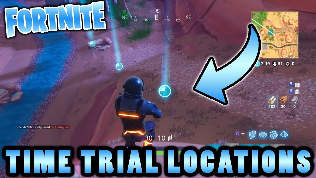 Fortnite Time Trial Locations Season 5 Week 6 Battle Pass Challenge